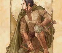 """Aragorn Son of Arathorn"" by Jenny Dolfen"